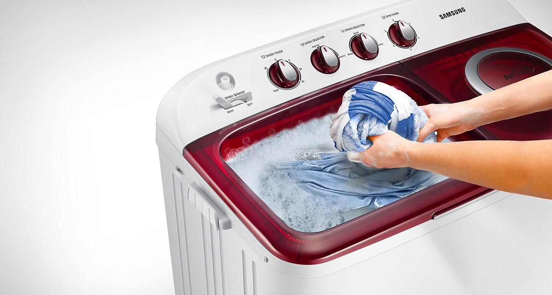 เครื่องซักผ้า 2 ถัง